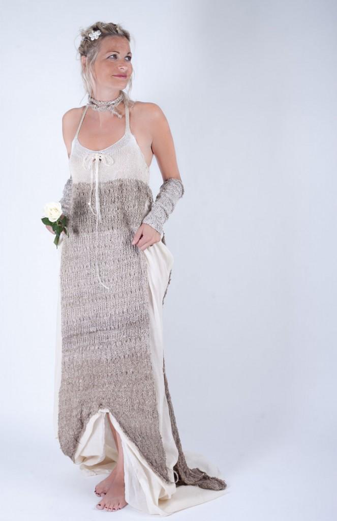 32a8885f659fd Robe de soirée ou de mariée - Ligne Sauvage