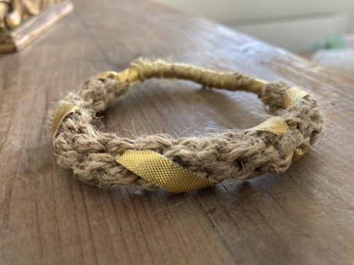 bracelet chanvre